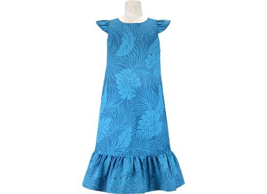 ケイキ(子ども)用 フラドレス keiki-dress_41034ds-2022BL-140 【既製品】