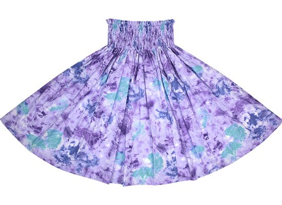 紫のパウスカート ハイビスカス柄 spau-2668PP