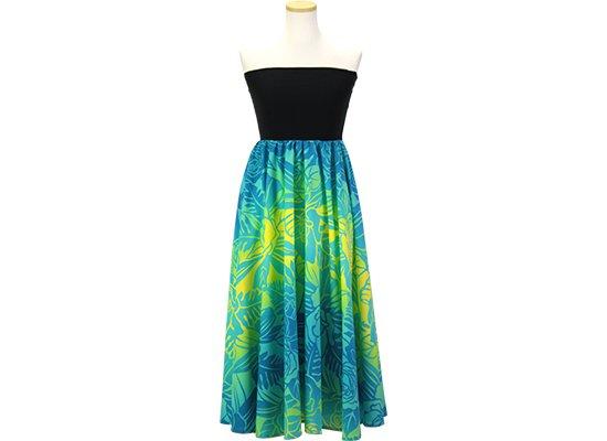 2wayチューブトップドレス ワンピース ロケラニ・グラデーション柄 51009-2667JD