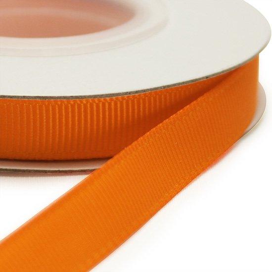 グログランリボン タンジェリン 10ヤード 9mm幅 [668]Tangerine 【メール便可】