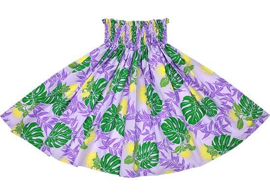 紫のパウスカート レフア・モンステラ・ティリーフ柄 spau-2674PP【NPS】