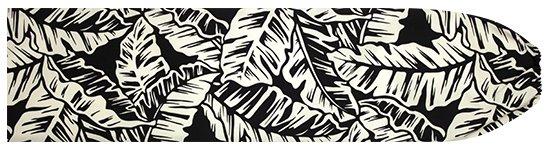 黒のパウスカートケース バナナリーフ柄 pcase-2681BK 【メール便可】★オーダーメイド