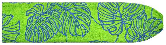 きみどりのパウスカートケース モンステラ柄 pcase-2689LG 【メール便可】★オーダーメイド