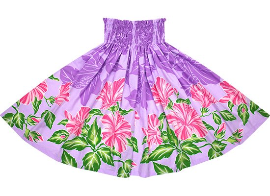紫のパウスカート ハイビスカス柄 spau-2690PP【NPS】