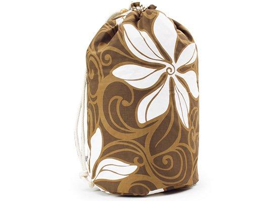 出し入れしやすい 茶色のイプケース スタンダードタイプ ティアレ柄 ipucase-rope-2304br 【既製品】