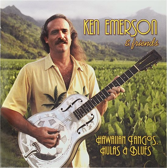 【CD】Hawaiian Tangos, Hulas & Blues / Ken Emerson & His Friends (ケン・エマーソン) 【メール便可】