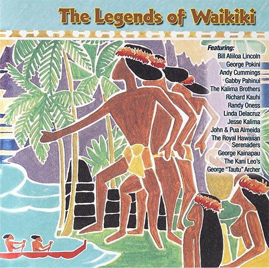 【CD】The Legends of Waikiki (ザ・レジェンズ・オブ・ワイキキ/オムニバス) 【メール便可】