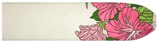 クリーム色のパウスカートケース ハイビスカス・ヤシ柄 pcase-2698CR 【メール便可】★既製品