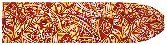 赤のパウスカートケース タパ・トライバル柄 pcase-2702RD  【メール便可】 ★既製品