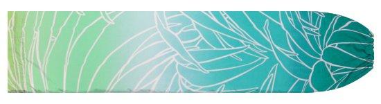 ヒスイ色のパウスカートケース ヤシ・グラデーション柄 pcase-2703JD 【メール便可】★オーダーメイド