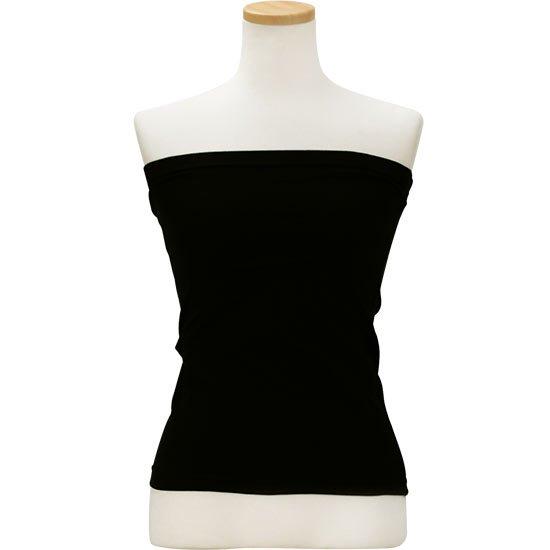 シンプル ベアトップ チューブトップ ブラック hlds-tubetop-rm-black 【セール品】【メール便可】