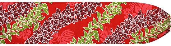 赤のパウスカートケース マイレ・チューベローズ柄 pcase-2470RD-M Mサイズ【メール便可】★既製品