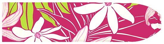 ピンクのパウスカートケース ティアレ・モンステラ柄 pcase-2558Pi-M Mサイズ【メール便可】★既製品