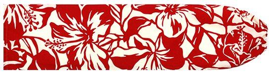 クリーム色と赤のパウスカートケース ハイビスカス柄 pcase-2650CRRD-M Mサイズ【メール便可】★既製品