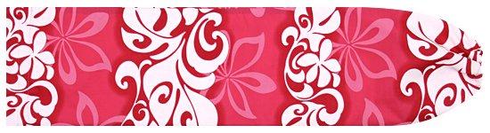 ピンクのパウスカートケース プルメリア・モンステラ柄 pcase-2547Pi  【メール便可】 ★既製品