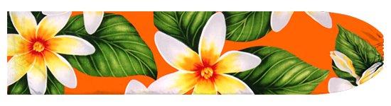 オレンジのパウスカートケース ティアレ柄 pcase-2710OR 【メール便可】★オーダーメイド