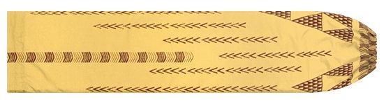 ベージュのパウスカートケース オヘカパラ・カヒコ柄 pcase-2712BG 【メール便可】★オーダーメイド