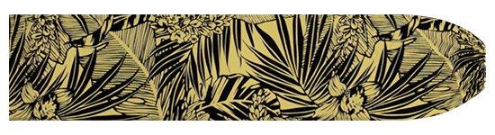 ベージュのパウスカートケース オーキッド・ヤシ・バナナリーフ柄 pcase-2715BG 【メール便可】★オーダーメイド