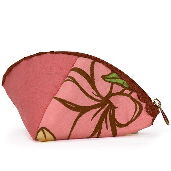 クラムポーチ プルメリア柄 ピンク pcclm-2680Pi