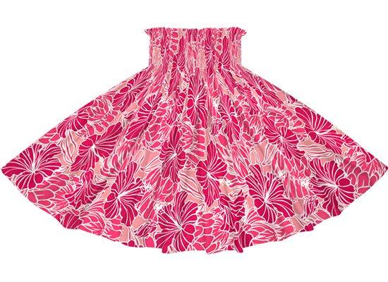 ピンクと紫のパウスカート ハイビスカス・プロテア柄 spau-2721PiPP