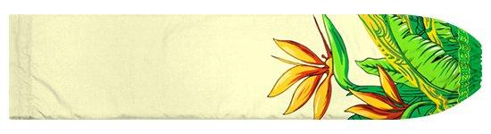 クリーム色のパウスカートケース バードオブパラダイス柄 pcase-2726CR 【メール便可】★オーダーメイド