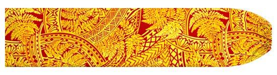黄色のパウスカートケース シダ・トライバル柄 pcase-2727YW 【メール便可】★オーダーメイド