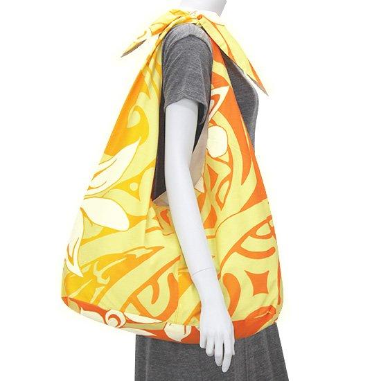 リボントートバッグ ティアレ・グラデーション柄 bag-t-rbn-2603OR 【メール便可】