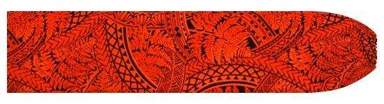 赤のパウスカートケース シダ・トライバル柄 pcase-2727RD  【メール便可】 ★既製品