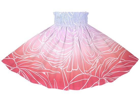 【ケイキ(子供)用】 ピンクのパウスカート ヤシ・グラデーション柄 kpau-2703PP rev 55cm 3本ゴム【既製品】