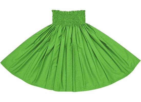 パロットグリーンの無地パウスカート spau-sld-prtgreen
