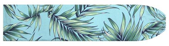 水色のパウスカートケース ヤシ柄 pcase-2729AQ 【メール便可】★オーダーメイド