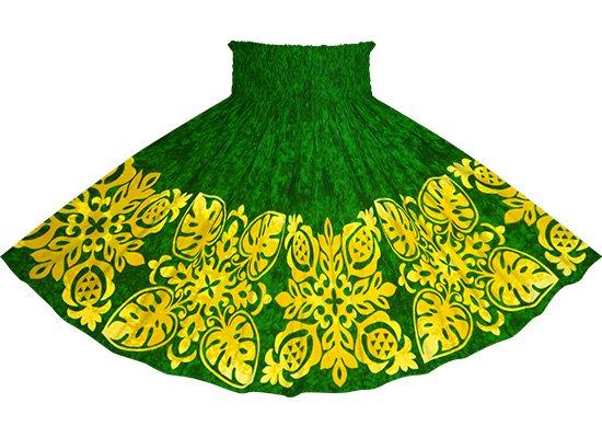 緑のパウスカート キルト柄 sprm-2730GN-75cm-4line★既製品