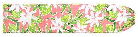 ピンクのパウスカートケース ティアレ柄 pcase-2731Pi 【メール便可】★オーダーメイド