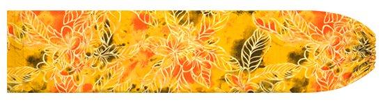 黄色のパウスカートケース プルメリア柄 pcase-2733YW 【メール便可】★オーダーメイド