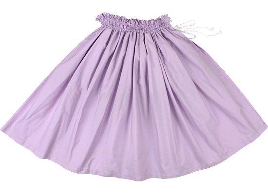 【紐パウスカート】 ラベンダー無地のパウスカート himo-lavender-muji 70cm 71cm 72cm 77cm【既製品】