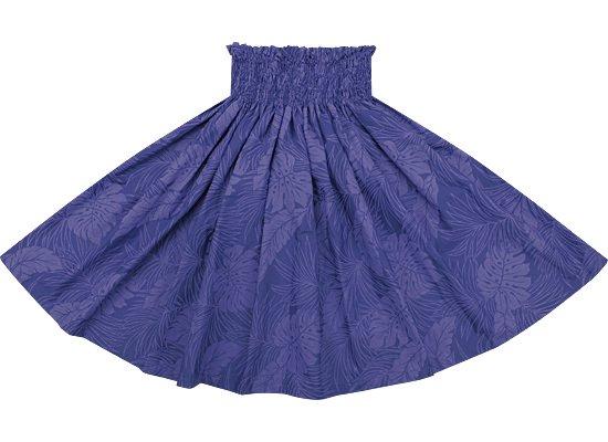 青紫のパウスカート モンステラ総柄 Sprm-2022PPBL-67cm-3line●既製品