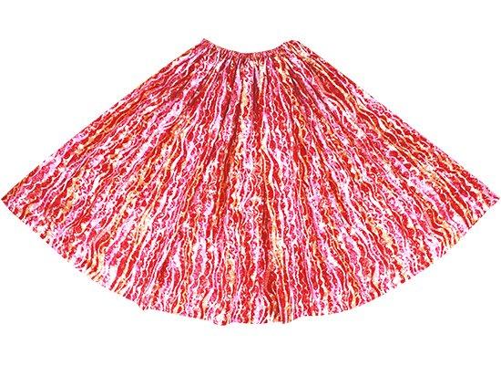 ピンクのパウスカート ウェーブ柄 spau-rm-2705Pi-80cm-1line 特殊ピッチ 【既製品】