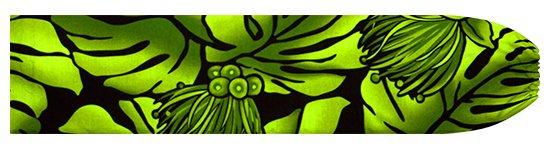 緑のパウスカートケース モンステラ・レフア柄 pcase-2734GN  【メール便可】 ★既製品