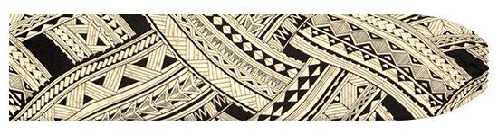 黒のパウスカートケース トライバル・カヒコ柄 pcase-2738BK 【メール便可】★オーダーメイド