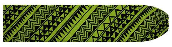 緑のパウスカートケース タパ・カヒコ柄 pcase-2740GN 【メール便可】★オーダーメイド