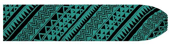 ヒスイ色のパウスカートケース タパ・カヒコ柄 pcase-2740JD  【メール便可】 ★既製品