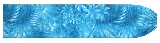 青のパウスカートケース ティアレ・ヤシ・モンステラ柄 pcase-2737BL  【メール便可】 ★既製品