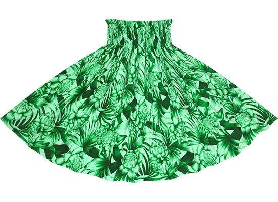 緑のパウスカート トーチジンジャー・ヤシ柄 spau-2746GN