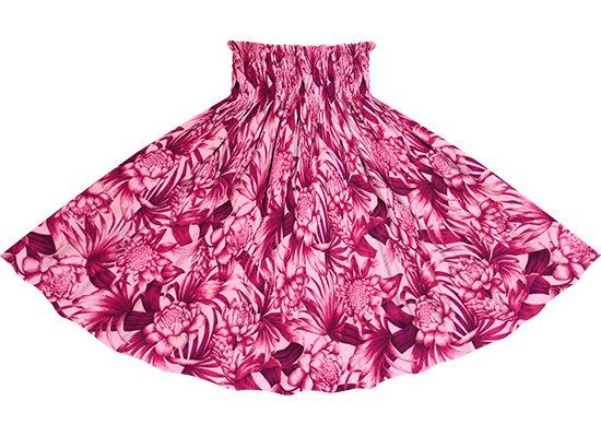 ピンクのパウスカート トーチジンジャー・ヤシ柄 spau-2746Pi