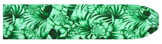 緑のパウスカートケース トーチジンジャー・ヤシ柄 pcase-2746GN 【メール便可】★オーダーメイド