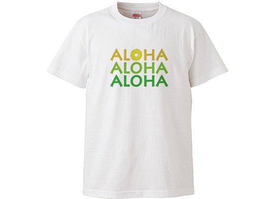 レディース キッズTシャツ− アロハ パイン 140サイズ 【既製品】 【メール便可】