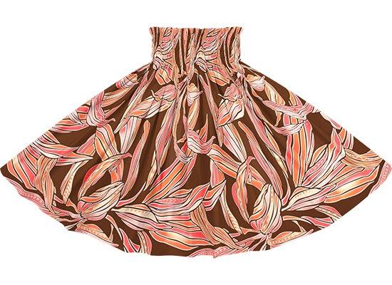 茶色のパウスカート ティリーフ柄 spau-2749BR