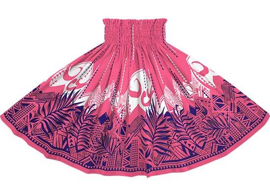 ピンクのパウスカート ヤシ・オヘカパラ柄 spau-2750Pi