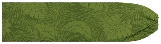 緑のパウスカートケース モンステラ柄 pcase-2022GN  【メール便可】 ★既製品