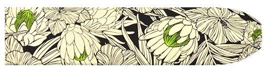 黒のパウスカートケース プロテア・ハイビスカス柄 pcase-2743BK  【メール便可】 ★既製品